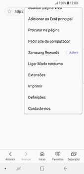 Samsung Galaxy S9 - Internet no telemóvel - Como configurar ligação à internet -  23