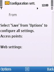 Nokia C5-00 - Internet - Automatic configuration - Step 4
