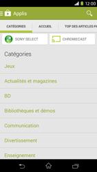 Sony Xpéria M2 - Applications - Télécharger une application - Étape 6