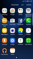 Samsung Galaxy S7 Edge - Wi-Fi - Como configurar uma rede wi fi - Etapa 3