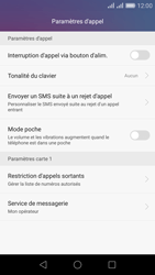 Huawei Honor 5X - Messagerie vocale - Configuration manuelle - Étape 5