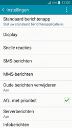 Samsung A300FU Galaxy A3 - SMS - handmatig instellen - Stap 6
