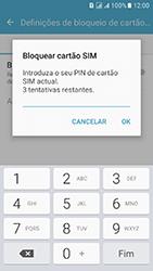Samsung Galaxy J5 (2016) DualSim (J510) - Segurança - Como ativar o código PIN do cartão de telemóvel -  9