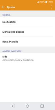 LG Q6 - Mensajería - Configurar el equipo para mensajes de texto - Paso 5