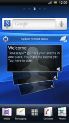 Sony Ericsson Xperia Play - Mms - Manual configuration - Step 1
