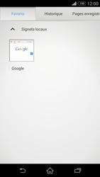 Sony D5803 Xperia Z3 Compact - Internet - navigation sur Internet - Étape 10