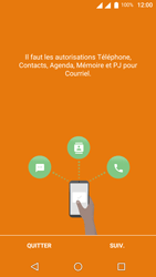 Wiko U-Feel Lite - E-mail - Configuration manuelle (outlook) - Étape 4