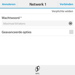 BlackBerry Classic - WiFi - Handmatig instellen - Stap 8
