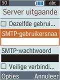 Samsung B2100 Xplorer - E-mail - Handmatig instellen - Stap 23