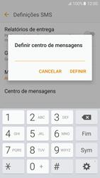 Samsung Galaxy S6 Android M - SMS - Como configurar o centro de mensagens -  9