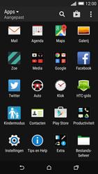 HTC One M8s - MMS - hoe te versturen - Stap 2