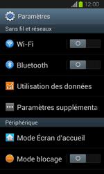 Samsung Galaxy Express - Internet et connexion - Utiliser le mode modem par USB - Étape 4