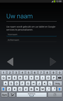 Samsung T315 Galaxy Tab 3 8-0 LTE - Applicaties - Account aanmaken - Stap 5