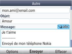 Nokia Asha 201 - E-mail - envoyer un e-mail - Étape 11