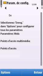 Nokia C6-00 - MMS - configuration automatique - Étape 6