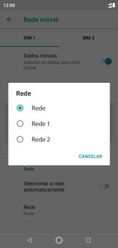 Motorola One - Rede móvel - Como selecionar o tipo de rede adequada - Etapa 10