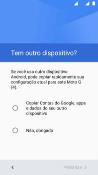 Motorola Moto G (4ª Geração) - Primeiros passos - Como ativar seu aparelho - Etapa 12