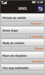 LG GD900 Crystal - MMS - Configuration manuelle - Étape 14
