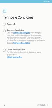 Samsung Galaxy Note 8 - Primeiros passos - Como ligar o telemóvel pela primeira vez -  7