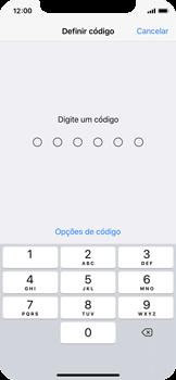 Apple iPhone X - Segurança - Como ativar o código de bloqueio do ecrã -  5