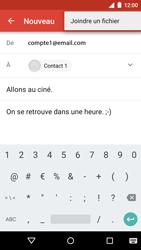 Motorola Moto G 3rd Gen. (2015) - E-mail - envoyer un e-mail - Étape 11