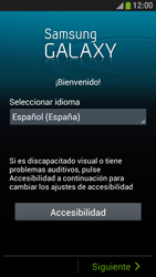 Samsung Galaxy S4 Mini - Primeros pasos - Activar el equipo - Paso 4