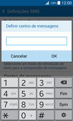 Samsung Galaxy J1 - SMS - Como configurar o centro de mensagens -  8