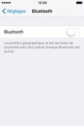 Apple iPhone 4 S iOS 9 - WiFi et Bluetooth - Jumeler votre téléphone avec un accessoire bluetooth - Étape 4
