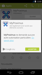 Acer Liquid Jade - Applications - MyProximus - Étape 9