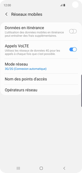 Samsung Galaxy S10 - Réseau - activer 4G - Étape 6
