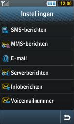 Samsung S8000 Jet - E-mail - e-mail instellen: POP3 - Stap 5
