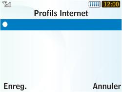 Samsung S3350 Chat 335 - Internet - configuration manuelle - Étape 16