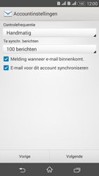 Sony Xperia E4g (E2003) - E-mail - Account instellen (POP3 met SMTP-verificatie) - Stap 17