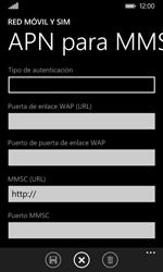 Nokia Lumia 635 - Mensajería - Configurar el equipo para mensajes multimedia - Paso 10