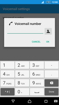 Sony Xperia Z5 Premium (E6853) - Voicemail - Manual configuration - Step 8