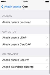 Apple iPhone 4S iOS 7 - E-mail - Configurar correo electrónico - Paso 6