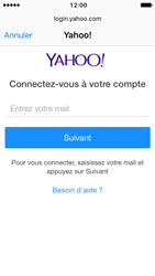 Apple iPhone SE - iOS 10 - E-mail - Configuration manuelle (yahoo) - Étape 6