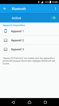 Sony Xperia Z5 Premium - Android Nougat - Bluetooth - connexion Bluetooth - Étape 8
