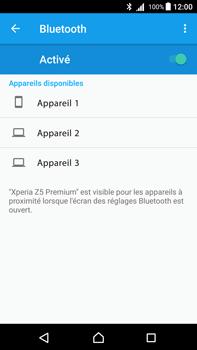 Sony Xperia Z5 Premium - Android Nougat - Bluetooth - connexion Bluetooth - Étape 8