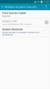 Samsung Galaxy Note 4 - Internet et connexion - Utiliser le mode modem par USB - Étape 5