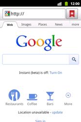 Samsung S5690 Galaxy Xcover - Internet - Internet browsing - Step 6