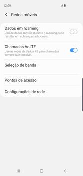 Samsung Galaxy S10 - Rede móvel - Como ativar e desativar o roaming de dados - Etapa 6