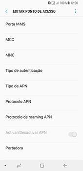 Samsung Galaxy A8 (2018) - MMS - Como configurar MMS -  12