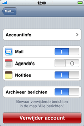 Apple iPhone 3G S - E-mail - handmatig instellen - Stap 11