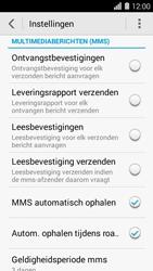 Huawei Ascend Y550 - MMS - probleem met ontvangen - Stap 5