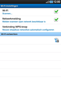 Samsung P1000 Galaxy Tab - WiFi - Handmatig instellen - Stap 7