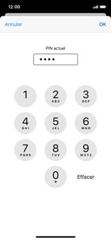 Apple iPhone XS - iOS 13 - Sécurité - modifier SIM PIN - Étape 7