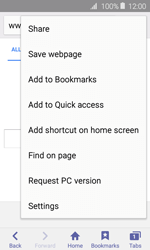 Samsung Galaxy J1 - Internet - Internet browsing - Step 15