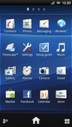 Sony Xperia Neo V - E-mail - Manual configuration - Step 3