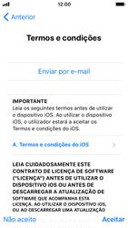 Apple iPhone SE - iOS 12 - Primeiros passos - Como ligar o telemóvel pela primeira vez -  19